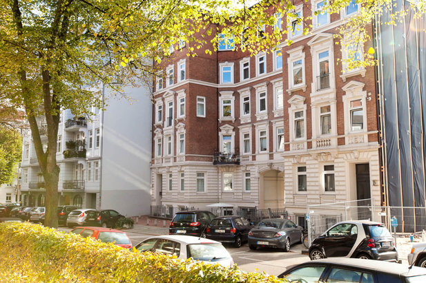 Magnificent old apartments in the Hamburg-Rotherbaum district - City-Wohnen Hamburg