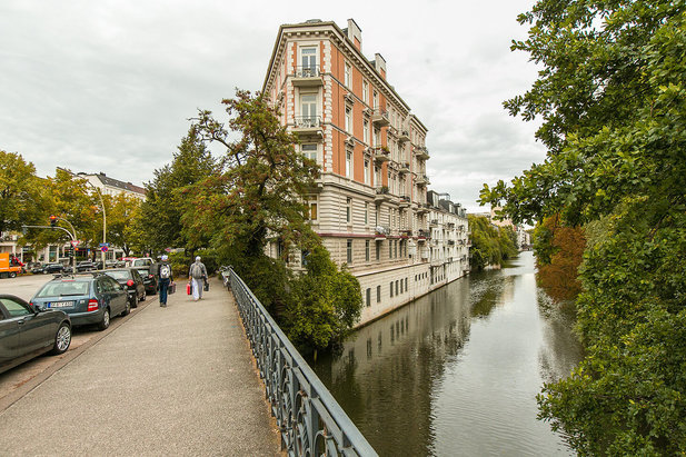 Living directly on the waterfront in Hamburg-Eppendorf | City-Wohnen