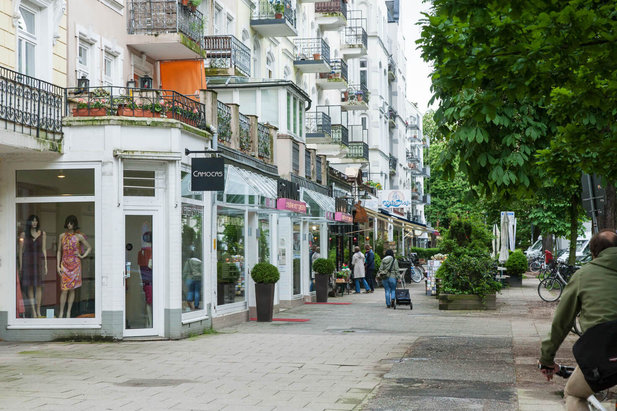 Living and shopping in the Hamburg-Eppendorf district - City-Wohnen Hamburg