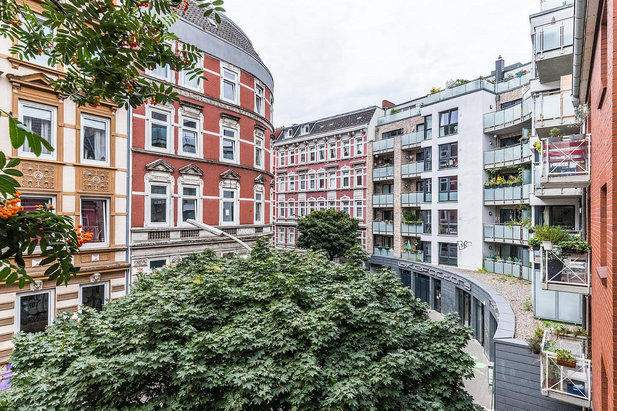 Living in the popular Hamburg district Sternschanze - Furnished living at City-Wohnen